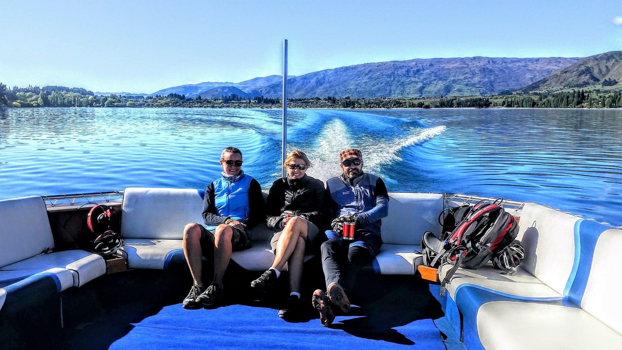 Discover Wanaka by boat